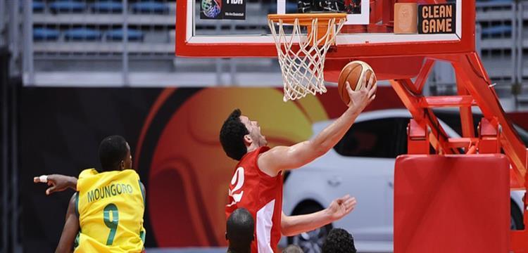 مباراة مصر ومالي في بطولة افريقيا لكرة السلة