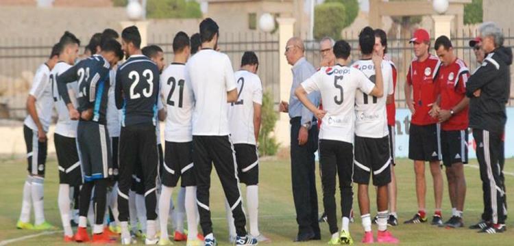 صورة أرشيفية للاعبي منتخب مصر