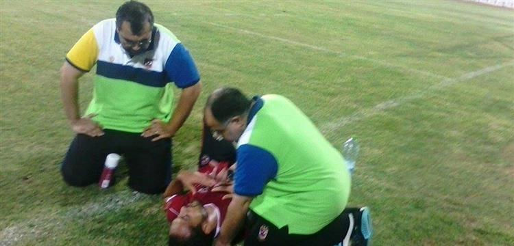 اصابة وليد سليمان