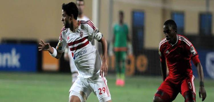 محمد ابراهيم لاعب الزمالك - صورة أرشيفية