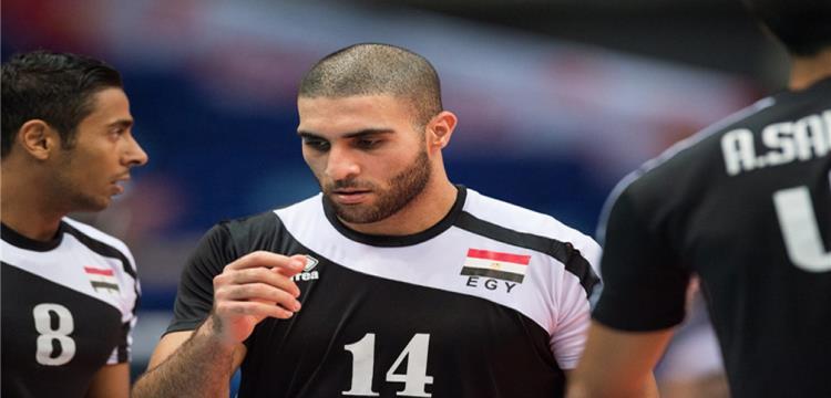 لاعبو مصر في لقطة أرشيفية