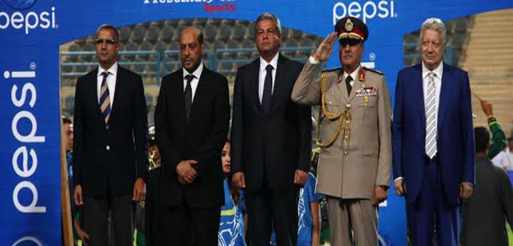 خالد عبدالعزيز وزير الشباب والرياضة