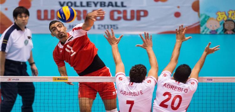 أحمد صلاح في لقطة من مباراة مصر وتونس بكأس العالم