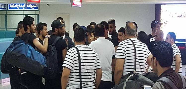 لاعبو الزمالك في مطار تونس - صورة أرشيفية