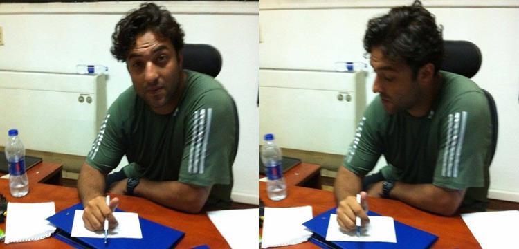 ميدو أثناء اختيار أفضل لاعب في مصر