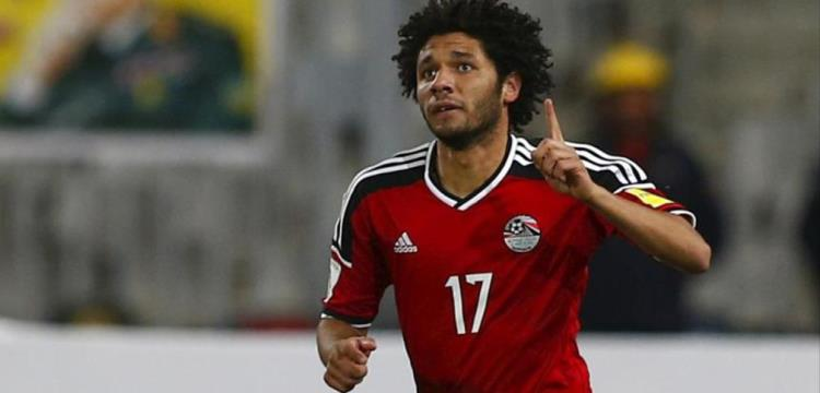 محمد النني بقميص منتخب مصر