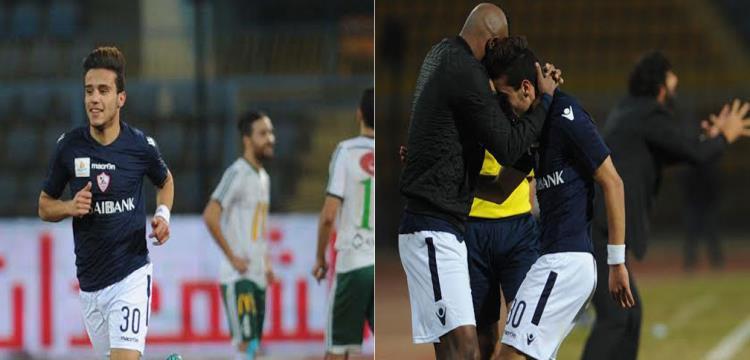 مصطفى فتحي مع شيكابالا