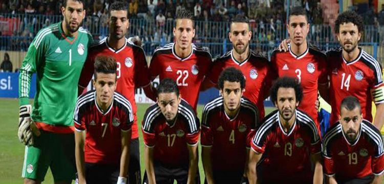 منتخب مصر في صورة أرشيفية