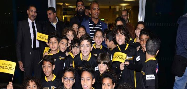 مالودا فور وصوله القاهرة