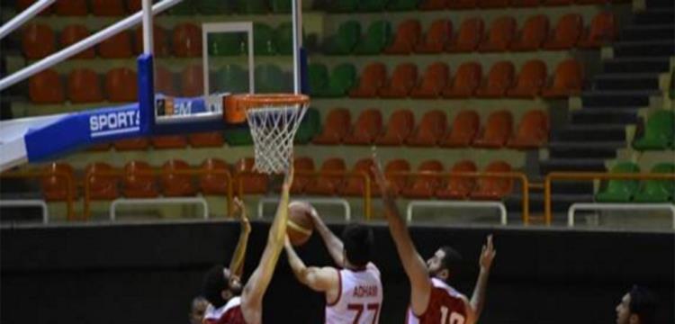 صورة من مباراة الزمالك والأهلي في نهائيات دوري المرتبط لكرة السلة