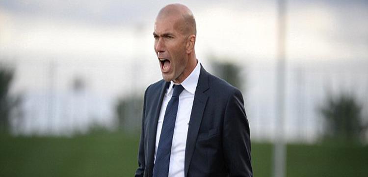 زين الدين زيدان مدرب ريال مدريد الجديد