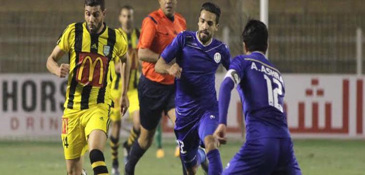 المقاولون العرب في مباراة سابقة