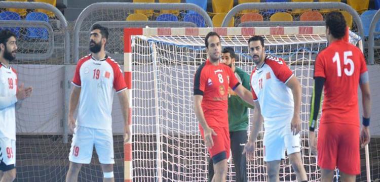 صورة من مباراة مصر والبحرين الودية