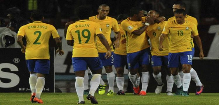 لاعبو البرازيل