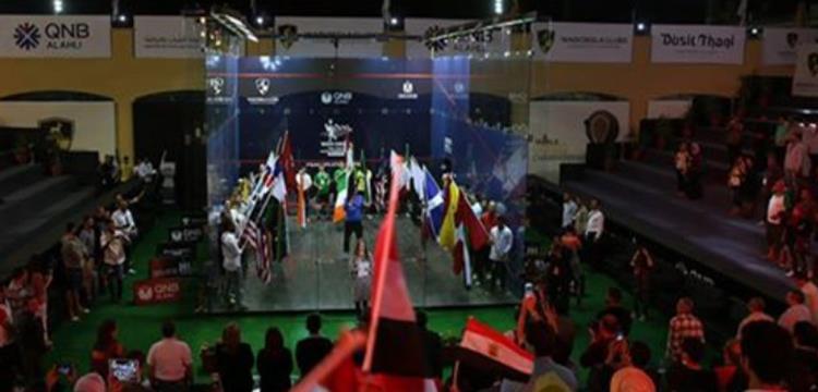 وادي دجلة يستضيف بطولة العالم للأسكواش