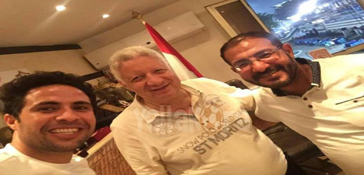 مرتضى منصور ومحمد ابراهيم