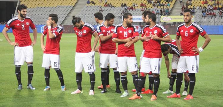 صورة أرشيفية للاعبي المنتخب المصري