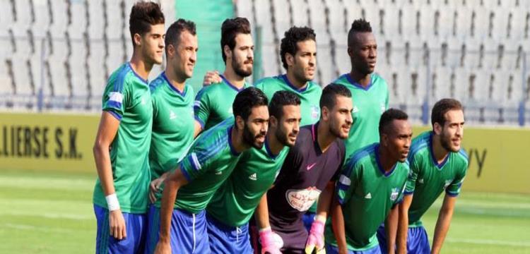 أحمد الشيخ مع فريق المقاصة
