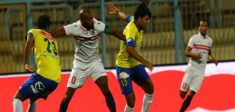 محمد عادل جمعة في لقطة من المباراة