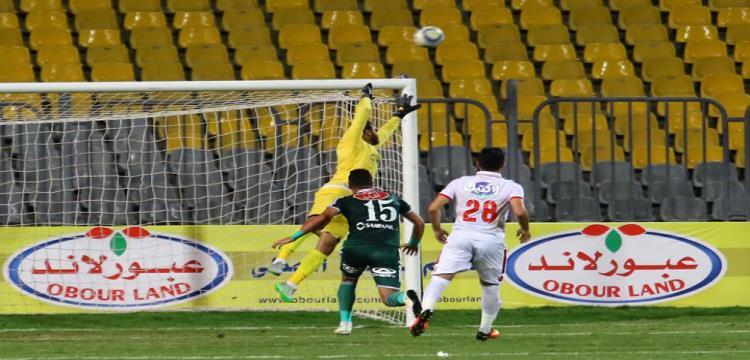 جنش في مباراة المصري