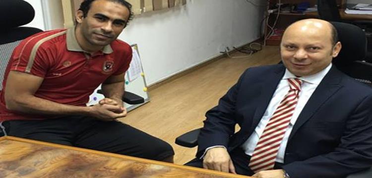 هشام عبد ربه مع سيد عبد الحفيظ