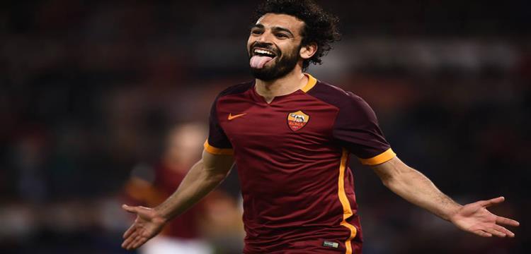 محمد صلاح لاعب روما الإيطالي