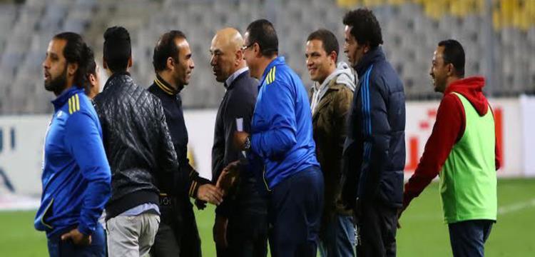 حسام حسن مع سيد عبد الحفيظ