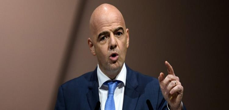 انفانتينو رئيس الاتحاد الدولي لكرة القدم