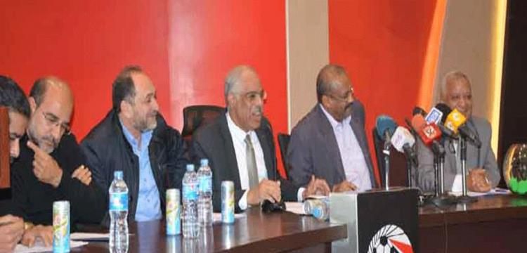 مجلس إدارة الاتحاد المصري لكرة القدم في صورة أرشيفية