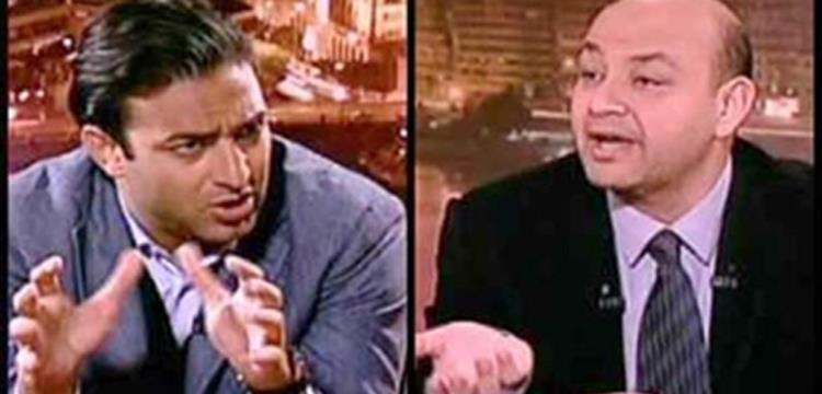 ميدو مع الإعلامي عمرو أديب