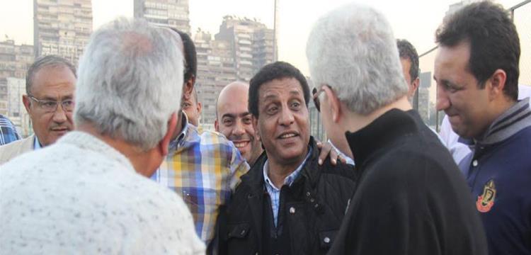 مرتضى منصور مع فاروق جعفر في صورة أرشيفية
