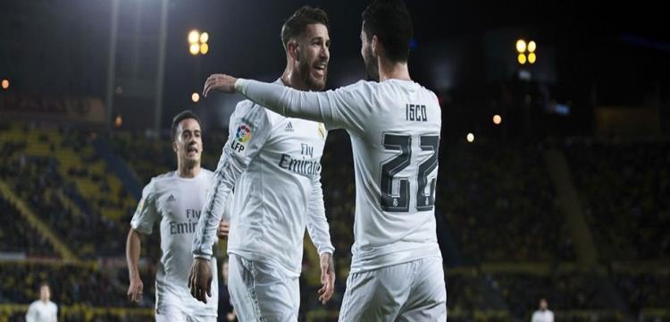 ريال مدريد في المباراة