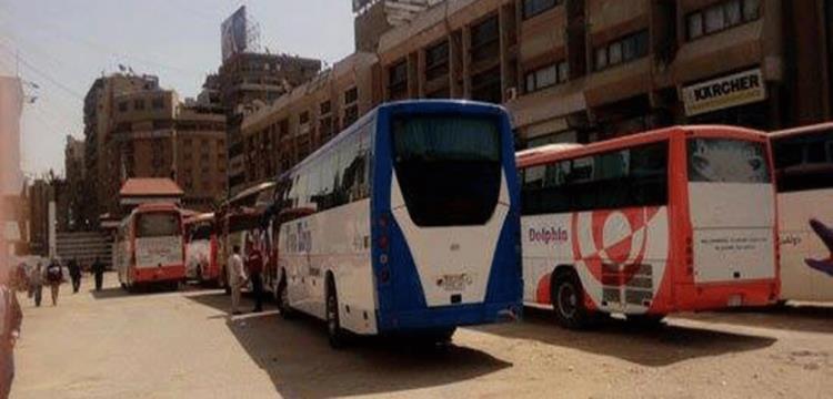 الحافلات داخل نادي الزمالك