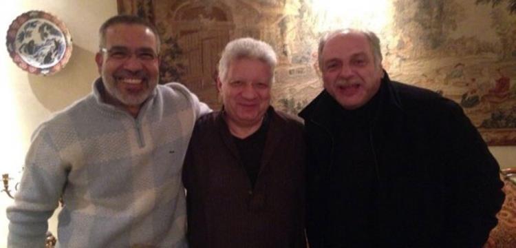 مرتضى منصور وعبدالوهاب صورة ارشيفية
