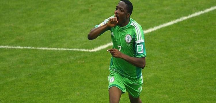 أحمد موسى لاعب نيجيريا