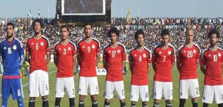 منتخب مصر تعادل مع نيجيريا