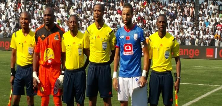 حكم مباراة نيجيريا ومصر