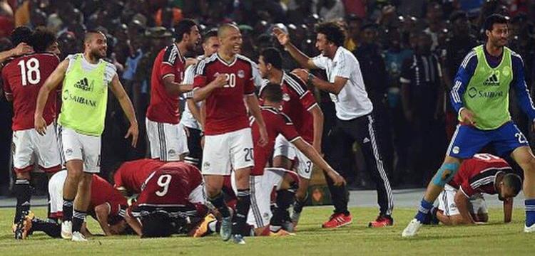 لاعبو مصر - صورة أرشيفية