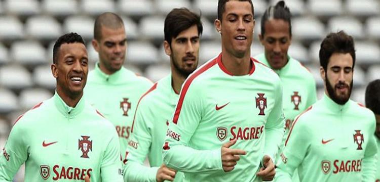 البرتغال تستعد لبلجيكا