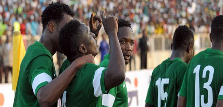 لاعبو نيجيريا في مواجهة مصر مجدداً