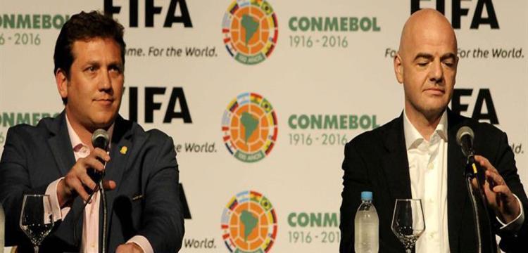 انفانتينو ورئيس الكونميبول