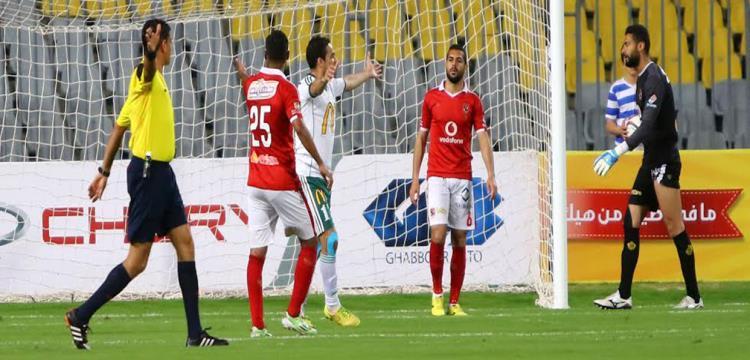 أحمد عادل في مباراة سابقة