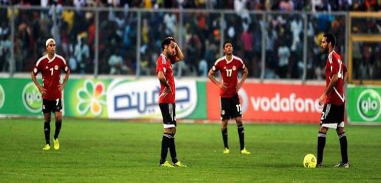 مصر أخفقت في تصفيات 2014 أمام غانا