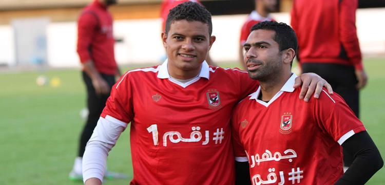 أحمد فتحي بجانب سعد سمير