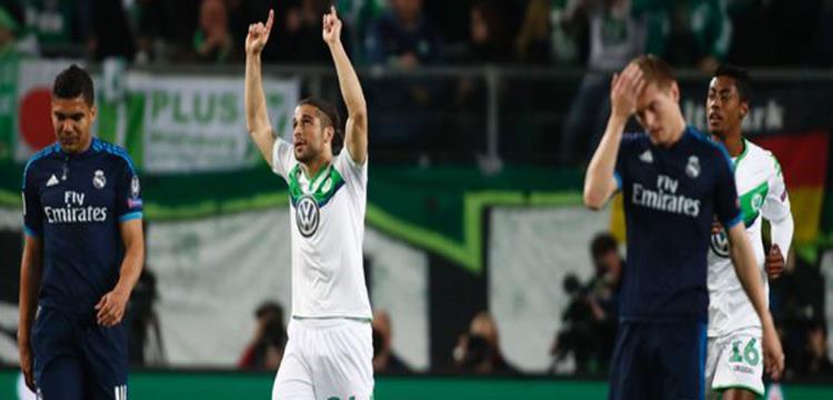 فولفسبورج تغلب على ريال مدريد