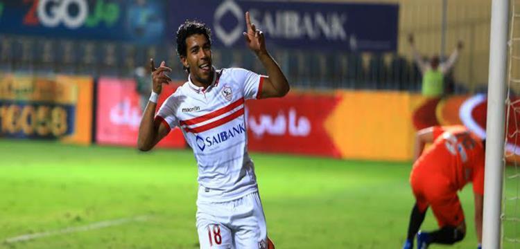 أحمد حمودي لاعب الزمالك السابق