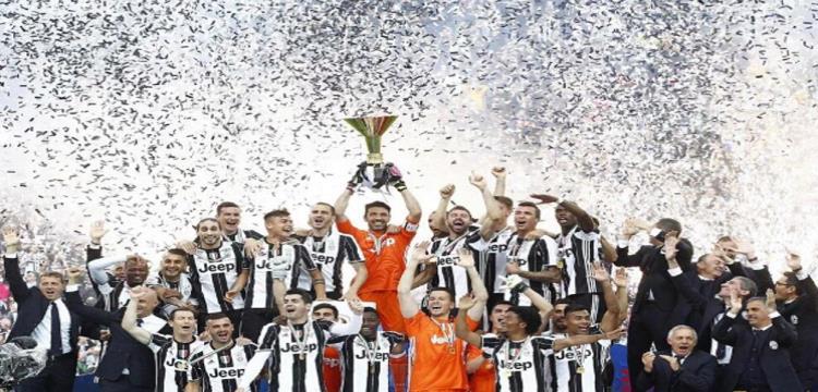 فريق يوفنتوس بطل الدوري الإيطالي