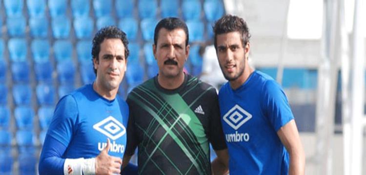 حسن نصر مع احمد الشناوي وأمير عبد الحميد - صورة أرشيفية