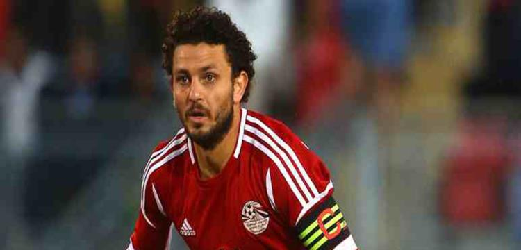 حسام غالي لاعب منتخب مصر والنادي الأهلي