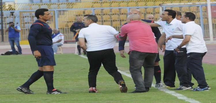احداث مباراة الاسماعيلي والمصري